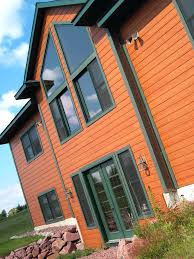 Color House by Siding Color Is Diamond Kote Mahogany Trim Color Is Diamond Kote