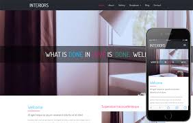Interior Design Categories Interior Furniture Designs Mobile Website Templates