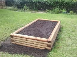 Cedar Landscape Timbers by 12 Diy Raised Garden Bed Ideas