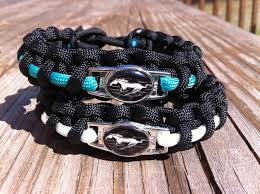 mustangs the rock ford mustang paracord bracelet paracord bracelets ford mustang