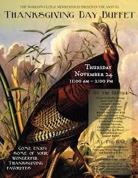 the s club of minneapolis calendar event thanksgiving