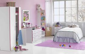 bedroom ideas for girls horizontal folding curtain bookcase wall