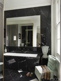 Black And White Bathroom Decor  Design Ideas - Black bathroom design ideas