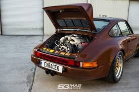old porsche race car code brown u2013 1975 porsche 911 carrera s3 magazine
