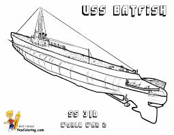 big boss coloring pages to print submarine submarine free