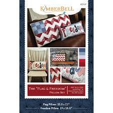 Design A Flag Free Flag U0026 Freedom Pillow Set U2013 Kimberbell Designs