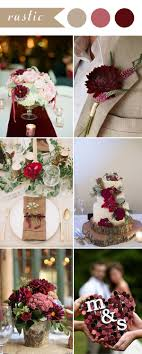 wedding themes ideas burgundy wedding themes ideas for 2017