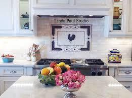 Tile Medallion Backsplash by Kitchen Backsplash Ideas Pictures And Installations