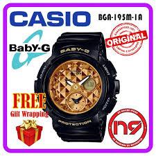 Jam Tangan Baby G casio baby g bga 195m 1a analog digital watches sports