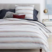 flannel bedding west elm