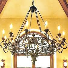 Simple Wrought Iron Chandelier Style Wrought Iron Chandelier Chandelier Designs