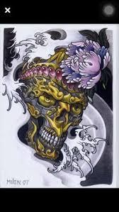 an ornamental skull thats to say originally