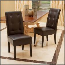 Leather Tufted Chairs Leather Tufted Dining Room Chairs Chairs Home Decorating Ideas