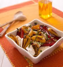 comment cuisiner la mozzarella poivrons grillés et mozzarella en salade les meilleures recettes