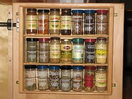 5 ideas to store spices on cabinet doors shelterness