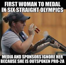 Medal Meme - 1st woman to medal in 6 straight olympics meme goes viral