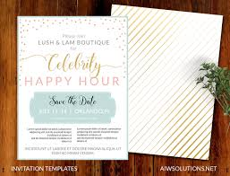 Vip Invitation Cards Invitations Event Template Save The Date Template Flyer Template