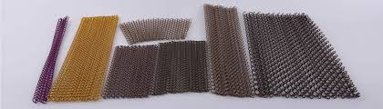 metal curtain for room divider and window curtains