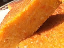 cuisine portugaise dessert gâteau portugais carotte et coco parfait pour utiliser les