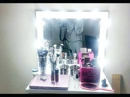 small lighted makeup mirror bathroom lighted vanity mirror in the