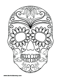 coloring pages skulls wings free printable skull pirate