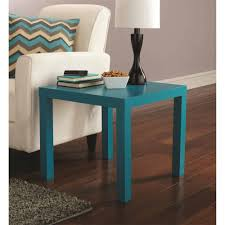 mainstays parsons table teal walmart com