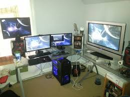 U Shaped Gaming Desk by Video Game Bedroom Ideas Apartments Fascinating Kids Video Game