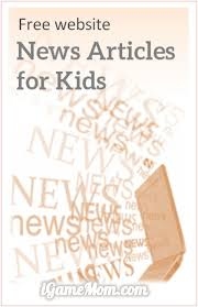 child safe website of free news articles for