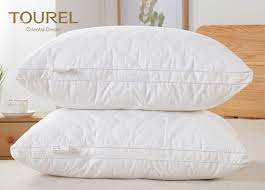 highest rated bed pillows health care feather fabric filled highest rated bed pillows for hotel