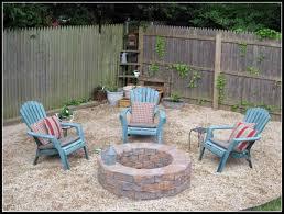 Backyard Patio Ideas With Fire Pit by Backyard Square Fire Pit Ideas Backyard Fence Ideas