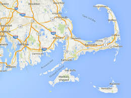 maps of cape cod martha u0027s vineyard and nantucket