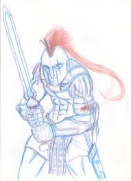 esparta espartano spartan guerreiro warrior arkhanjo art