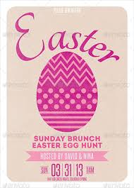 easter brunch invitations 30 easter invitation templates free sle exle format