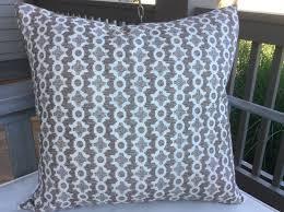 sister parish clara b in chocolate pillow covers