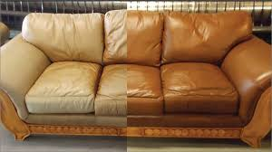 Steam Clean Sofas Leather Conditioner For Couch 66 Best Leather Honey Before Afters