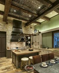 kitchen accent furniture rustic country kitchen cabinets brown striped accent walls color