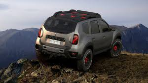 renault duster 2017 renault duster concept extreme motor1 com photos
