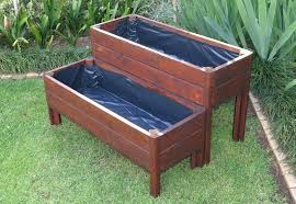 wooden garden tubs best wooden planter boxes ideas on planter