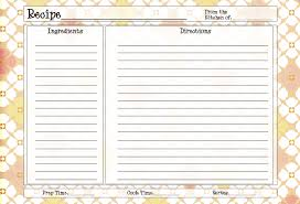 printable recipe cards 4 x 6 4x6 recipe cards modern flowers recipe card 4x6 recipe card pdf