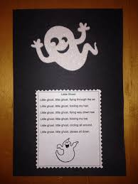 halloween ghost crafts preschool ghost craft and fun poem encouraging children to sit