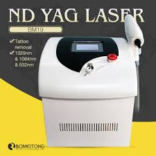 1064 532nm q switch nd yag laser tattoo removal machine price