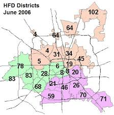 houston map districts harris county tx the radioreference wiki