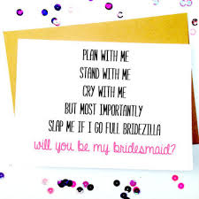 bridesmaid card wording best bridesmaids products on wanelo
