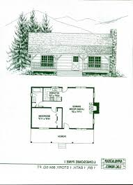 free one room cabin floor plans