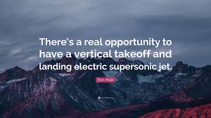 elon musk electric jet elon musk quote there s a real opportunity to have a vertical