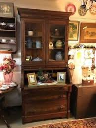 secretary desk with bookcase victorian cylinder roll top walnut secretary desk bookcase ebay