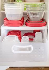 Organize Cabinets In The Kitchen by 25 Best Tupperware Organizing Ideas On Pinterest Tupperware