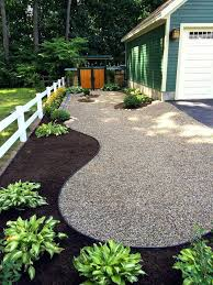 Garden Ideas With Rocks Landscape Ideas With River Rock Canadiantruckfest