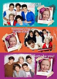one direction cards niall horan one direction valentines day card day