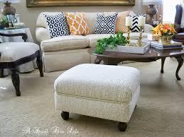 a stroll thru life how to make u0026 upholster an ottoman